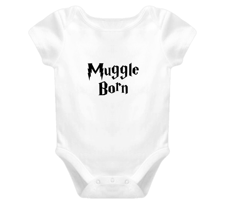 Muggle Born Cute Baby One Piece Onesie Harry Potter Inspired T Shirt