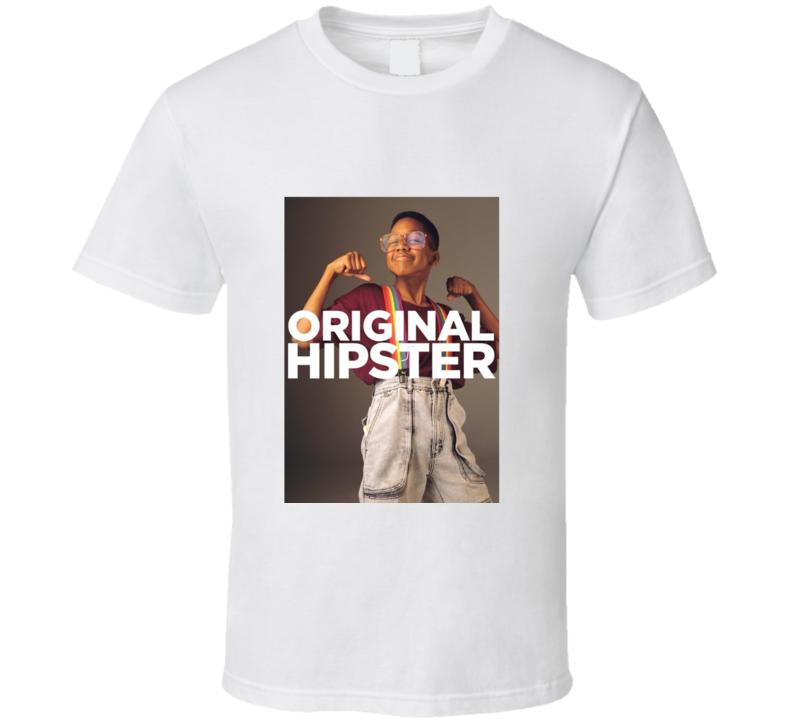 Original Hipster Steve Urkel Funny 90s Nerd T Shirt