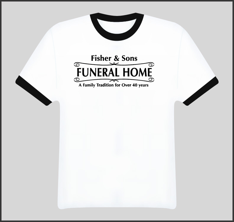 Six Feet Under Fisher And Sons Funeral Home T Shirt