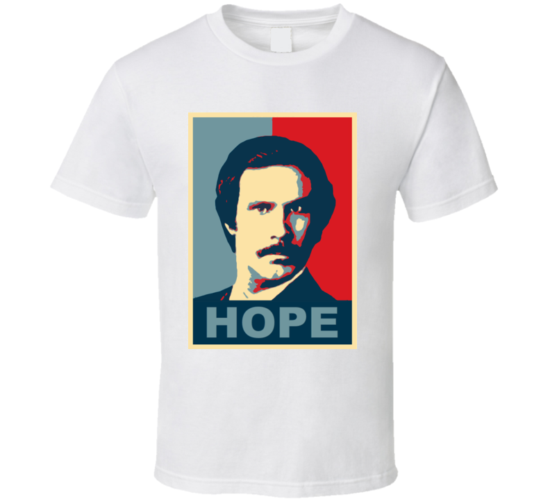 Ron Burgundy Anchorman Movie Hope T Shirt