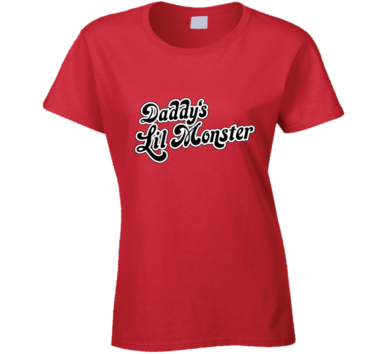 Daddy's Lil Monster Harley Quinn Suicide Squad T Shirt