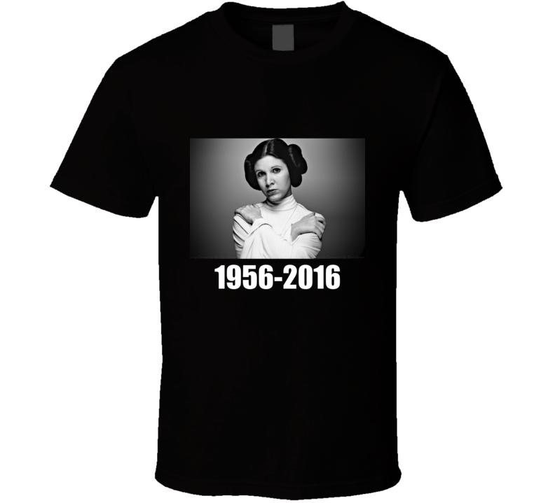 R.I.P Carrie Fisher Princess Leia Movie Legend T Shirt