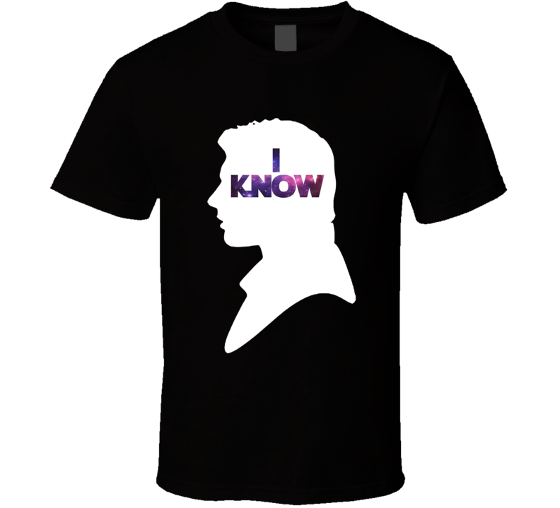 Star Wars Han 'I Know' Silhouette Couple Movie T Shirt