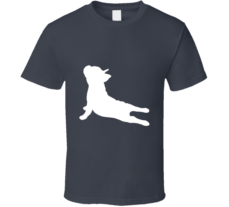 French Bulldog Yoga Upward Dog Cute Funny Animal T Shirt