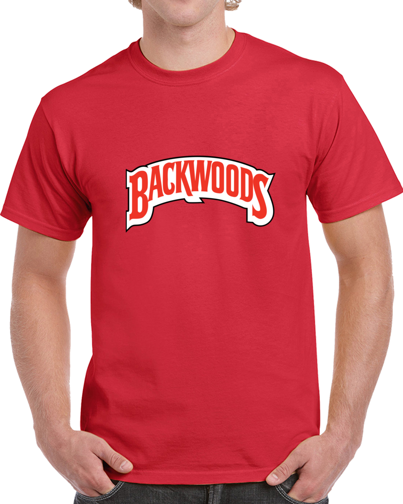 Backwoods Cigar Wild And Mild Logo T Shirt