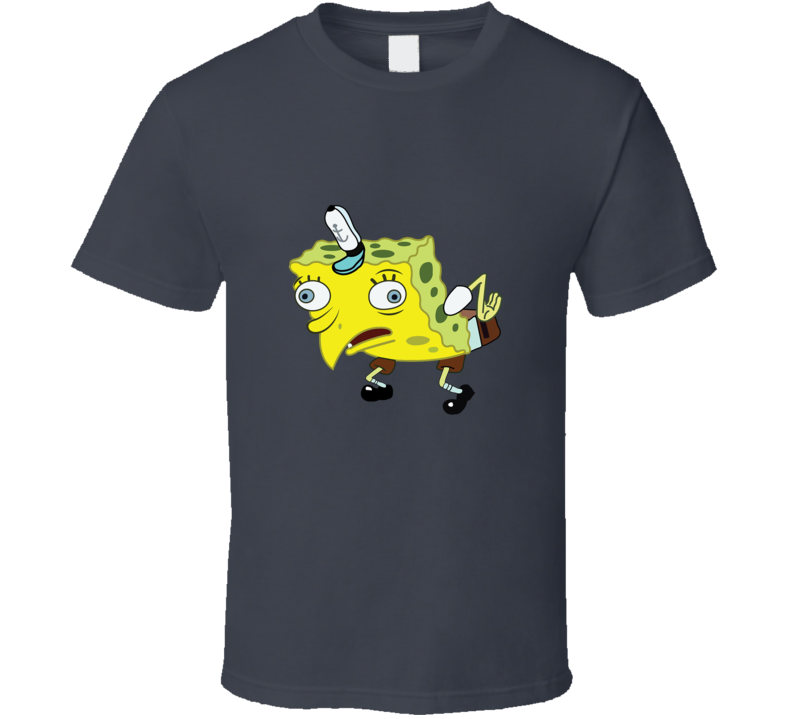 Mocking Spongebob Funny Spongemock Opinion Meme  T Shirt