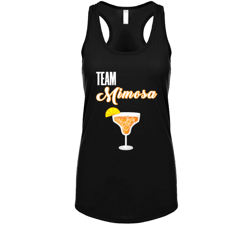 Team Mimosa Funny Brunch Bachelorette Party Champagne Celebration T Shirt