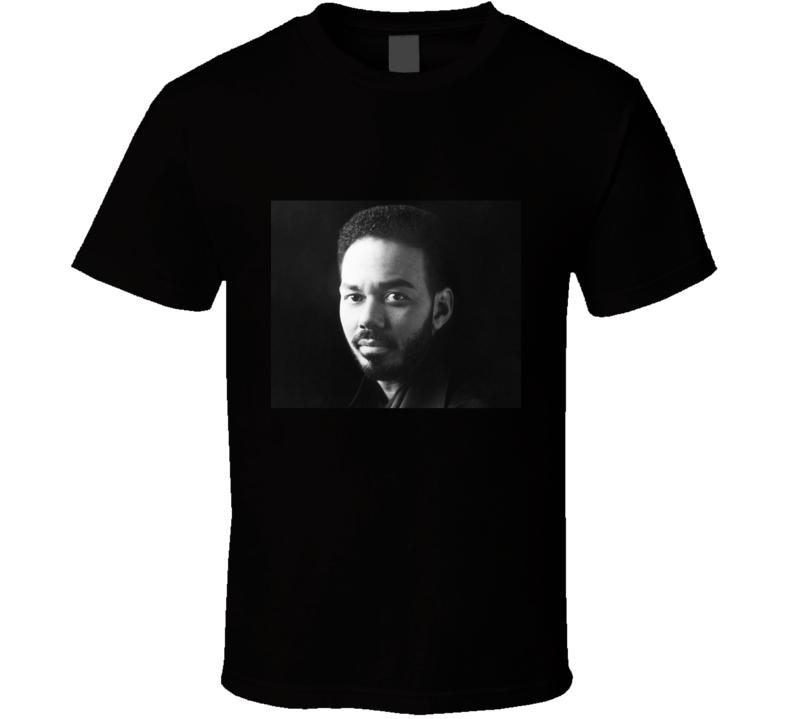 James Ingram Musician Black And White Portrait R&b Singer Legend T Shirt