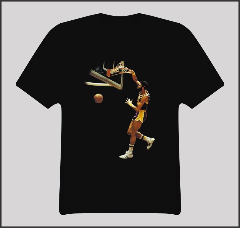 Kareem Abdul Jabbar Basketball Player T Shirt