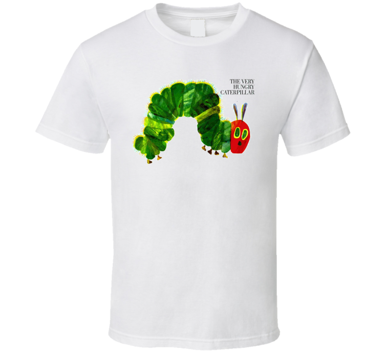 The Very Hungry Caterpillar Children'S Book T Shirt