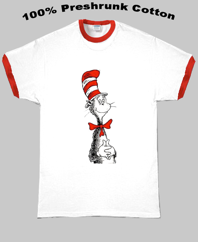 Dr Seuss The Cat In The Hat T Shirt
