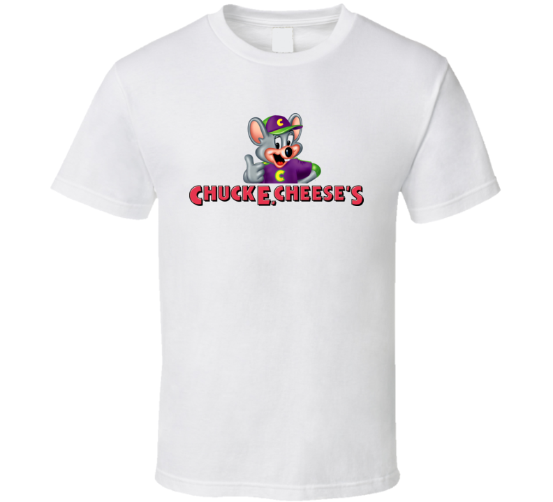 Chuck E Cheese Restaurant Playground Mascot T Shirt
