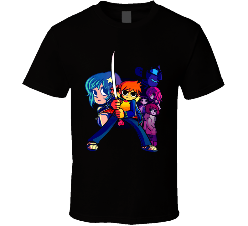 Scott Pilgrim Video Game Movie Comic T Shirt