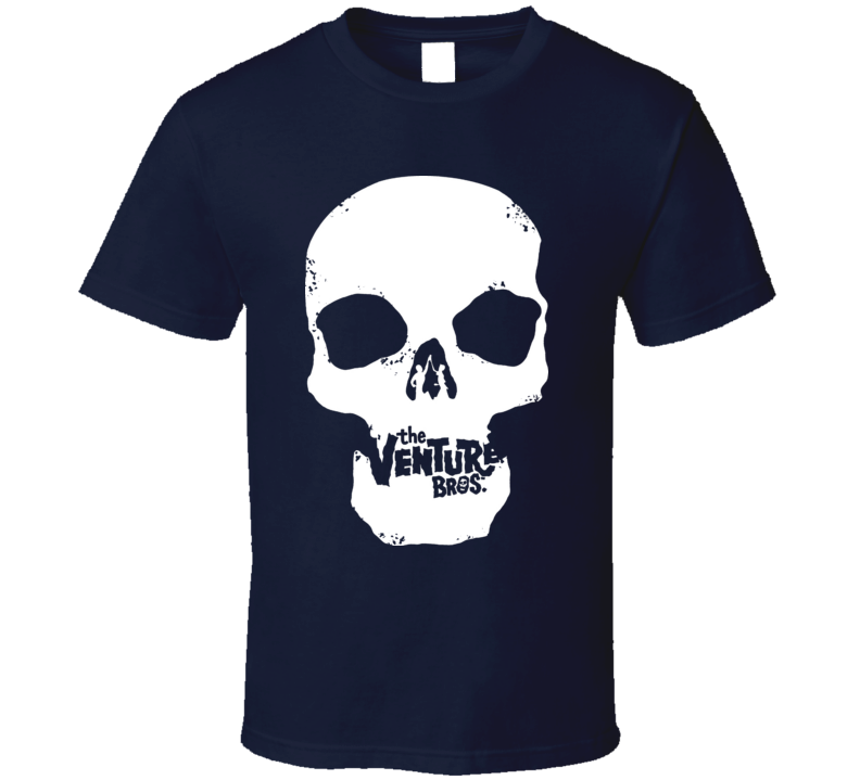 Venture Bros Skull Cartoon T Shirt