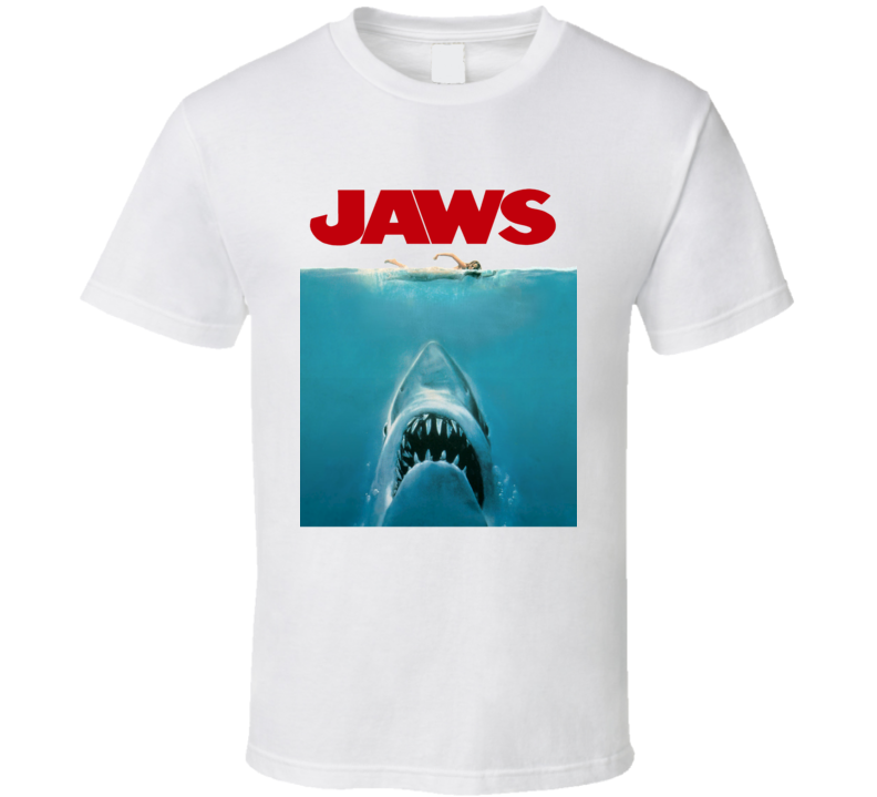 Jaws Cult Movie Poster Gord Downie Tragically Hip T Shirt