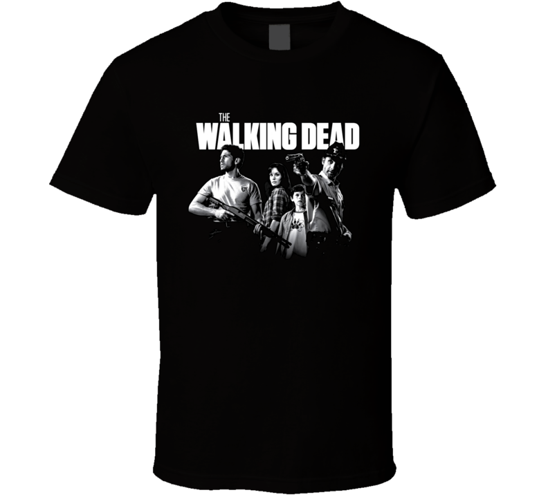 The Walking Dead Tv Show Zombies T Shirt