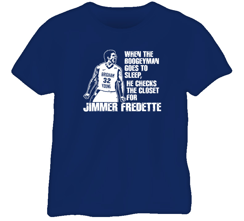 Jimmer Fredette Basketball T Shirt