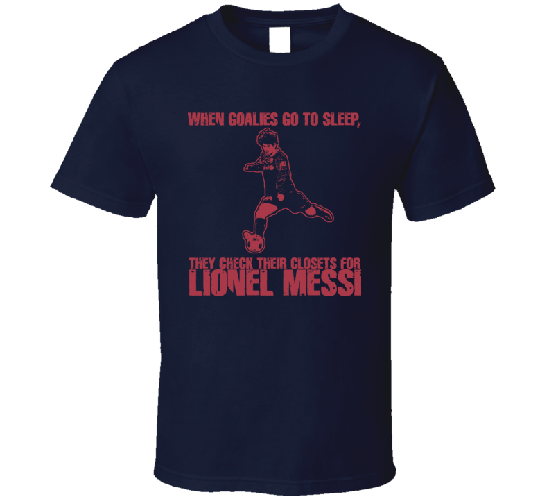 Lionel Messi Barcelona T Shirt Argentina T Shirt