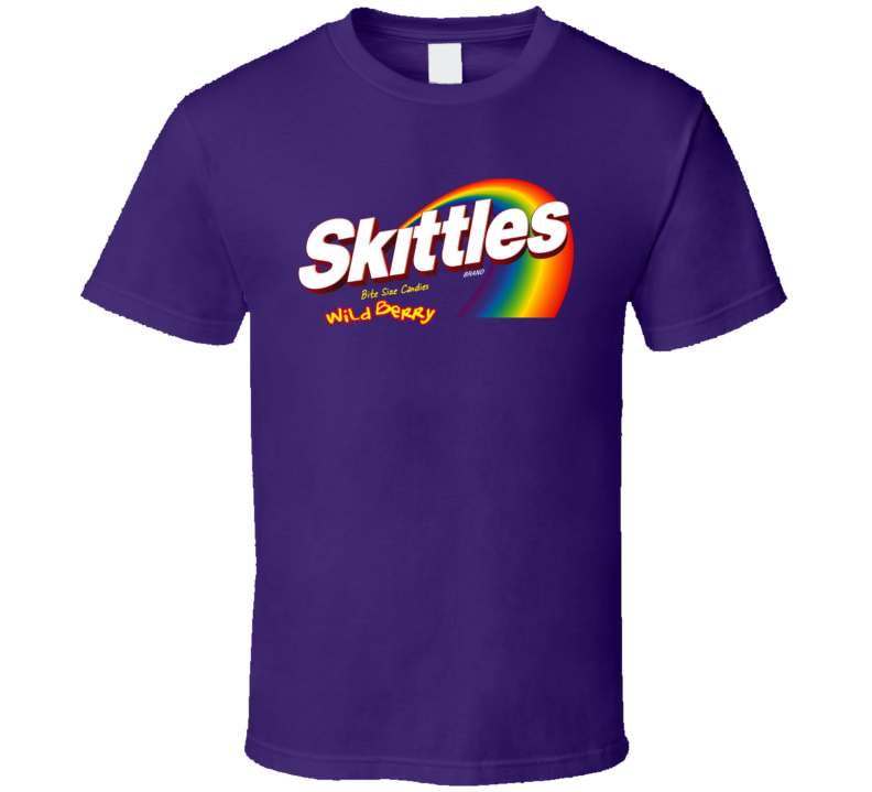 Skittles Wild Berry Candy T Shirt