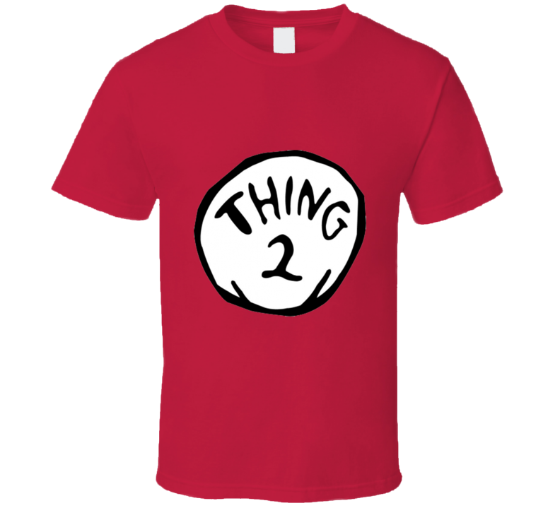 Thing Two Dr Seuss Inspired T Shirt