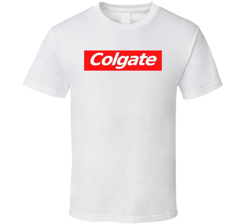 ace5ae0f5ab1 Colgate Supreme Inspired T Shirt