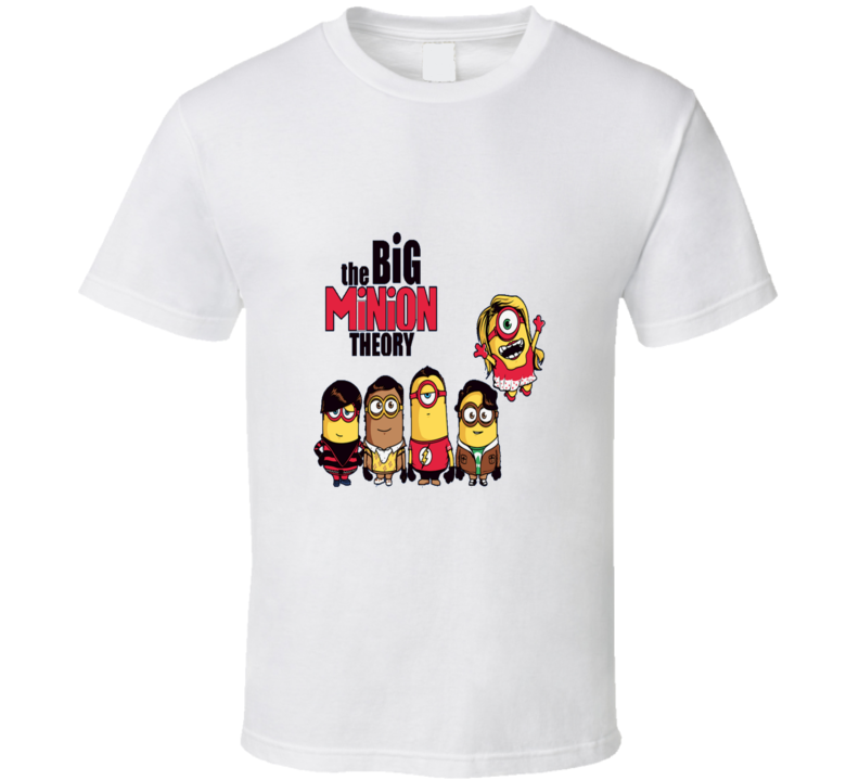 The Big Bang Theory Minion Despicable Me Funny T Shirt