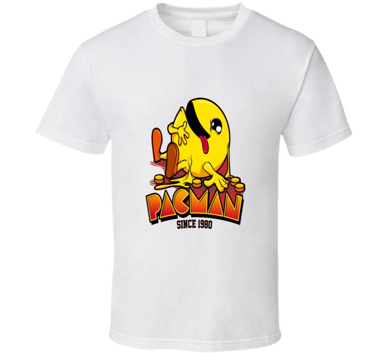 Pacman Funny Classic T Shirt
