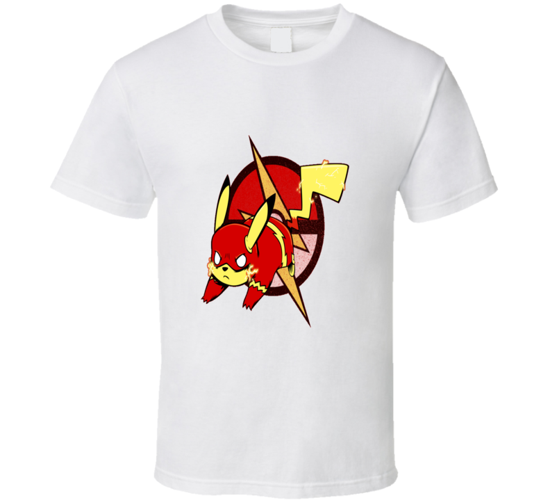 The Flash Pikachu Pikaflash Cool T shirt