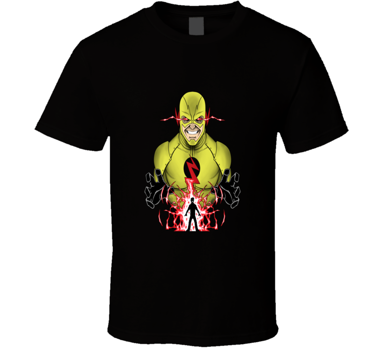 The Flash Reverse Flash Cool Super Villain T Shirt