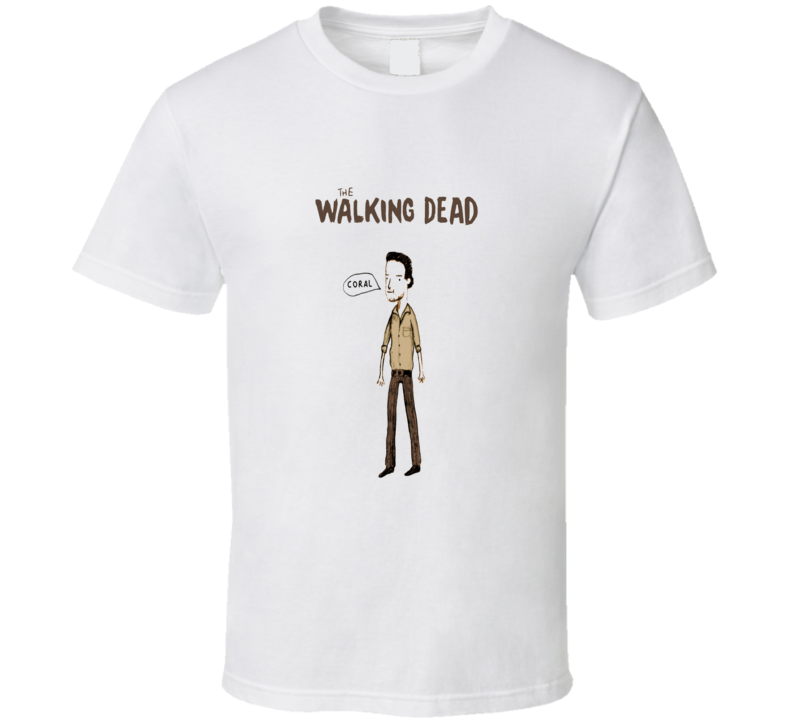 The Walking Dead Rick Grimes Funny T Shirt