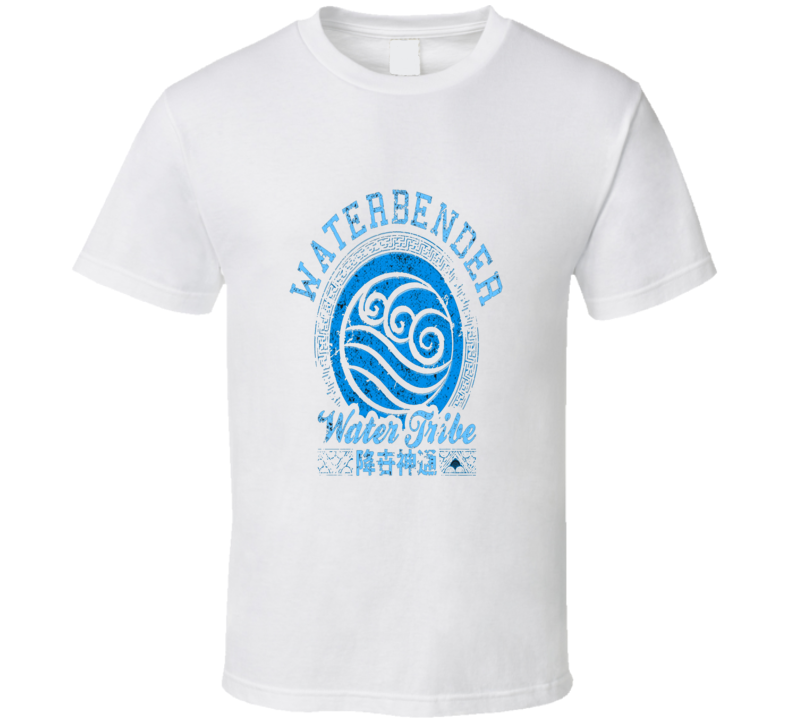 Avatar Water bender Water Tribe Cool T Shirt