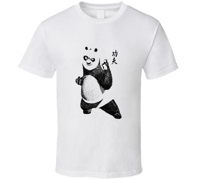 Kong Fu Panda Cool T Shirt