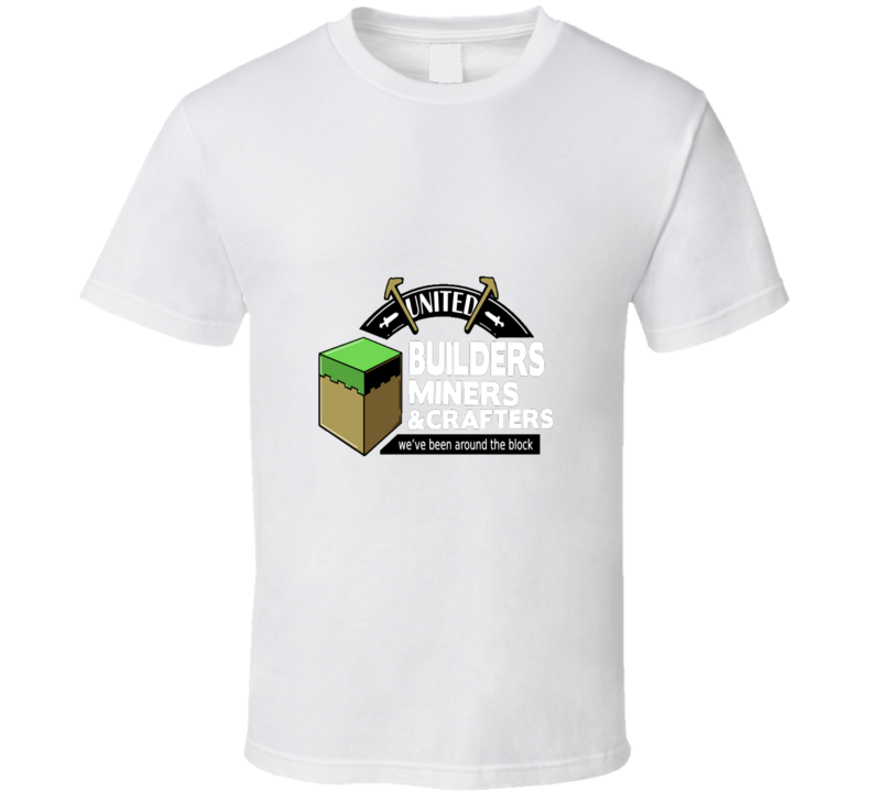 Mine Craft Cool Video Game T Shirt