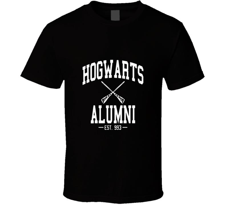Harry Potter Hogwarts Alumni Cool T Shirt