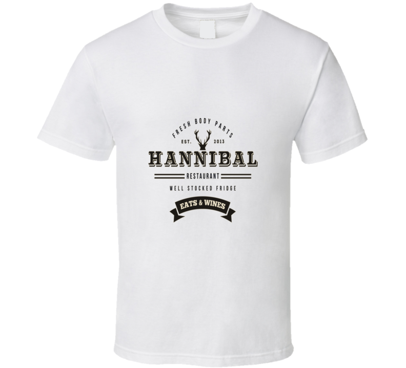 Hannibal Eats And Wines Restaurant Funny T Shirt