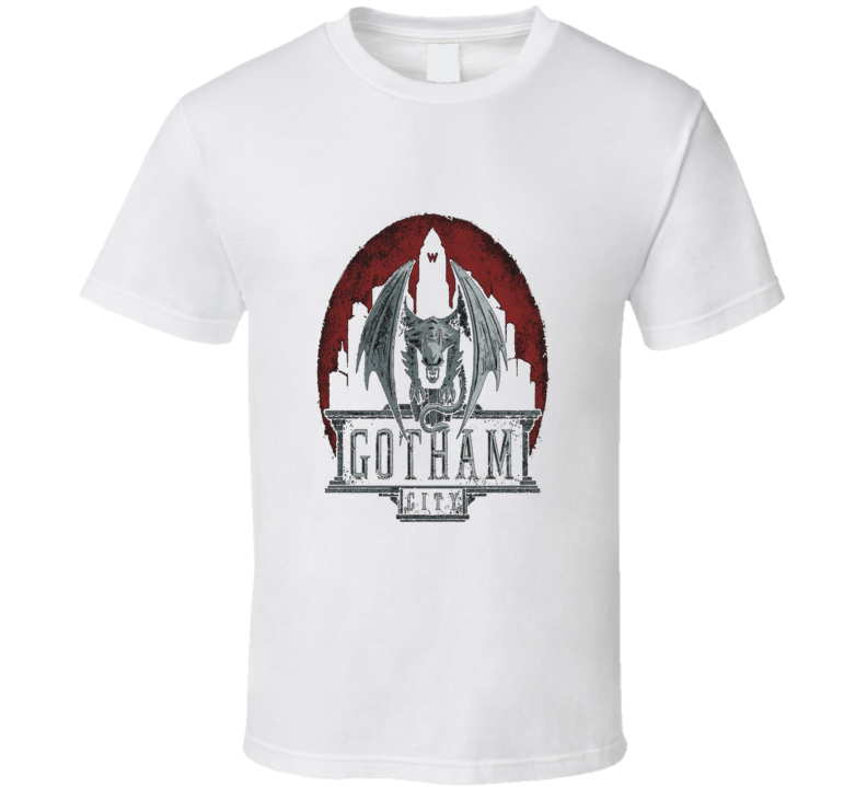 Gotham City Gargoyle Cool T Shirt