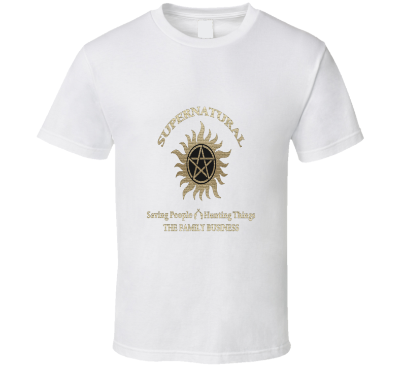 Supernatural The Family Business Cool T Shirt