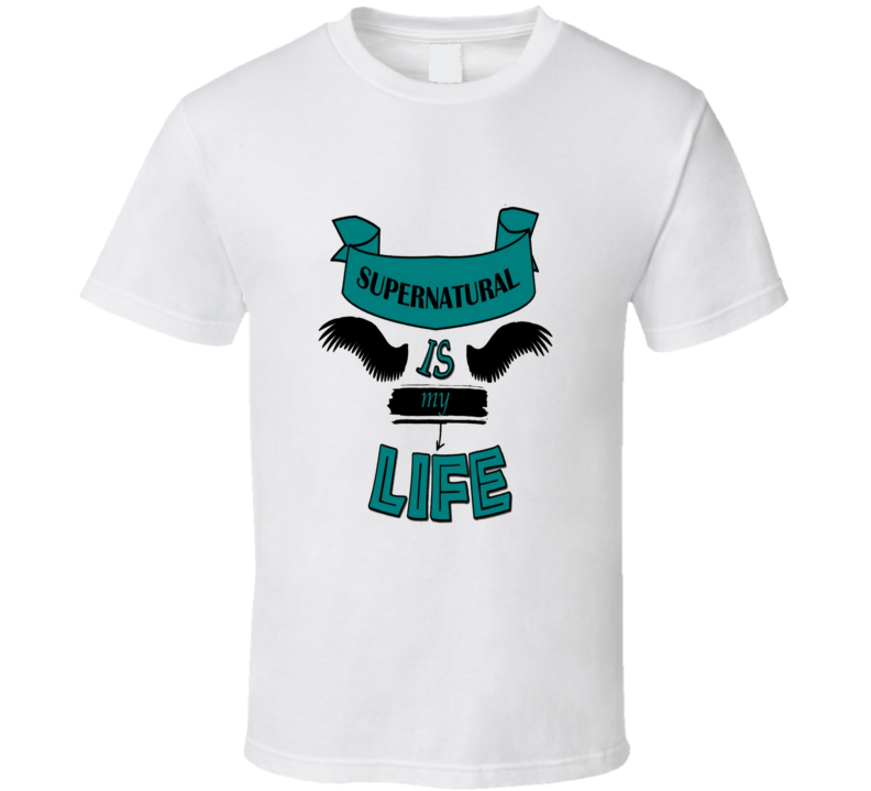 Supernatural Is My Life Cool Fan T Shirt