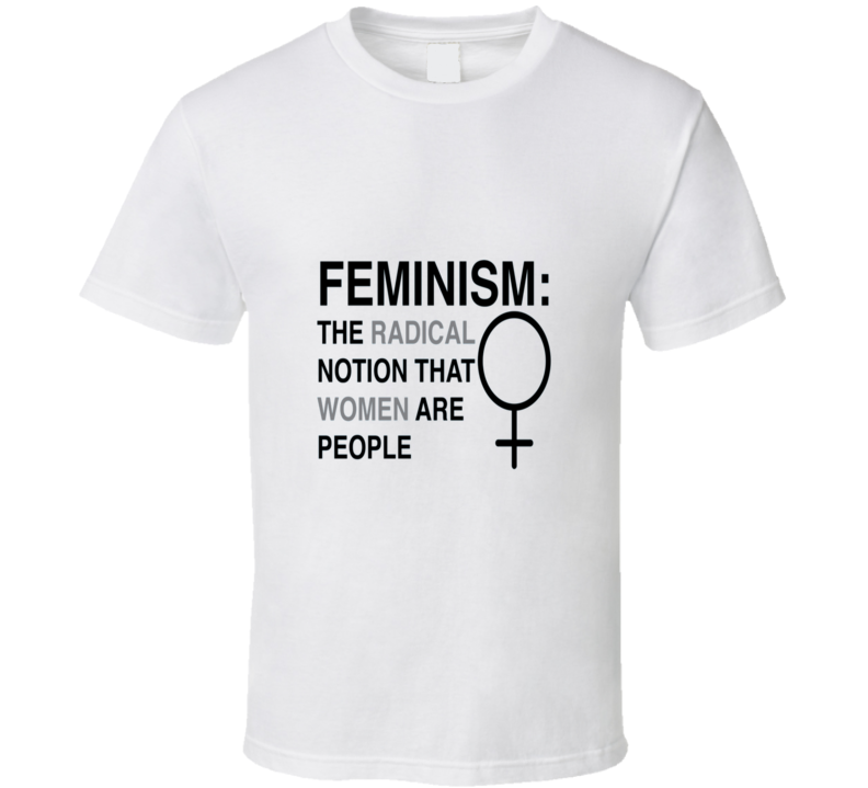 Definition Of Feminism Funny T Shirt