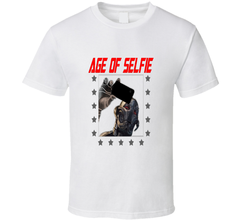 Age Of Ultron Funny Selfie T Shirt