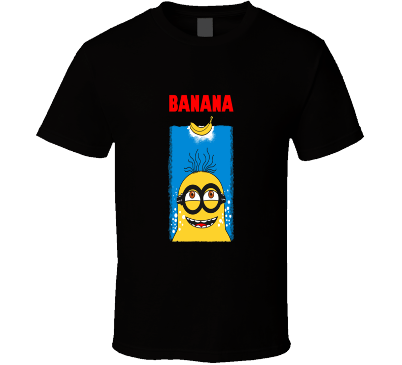 Minion In Love With Banana Funny T Shirt