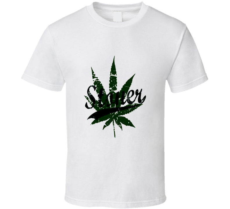 I'm A Stoner Cool Weed And Pot Smoker's T Shirt