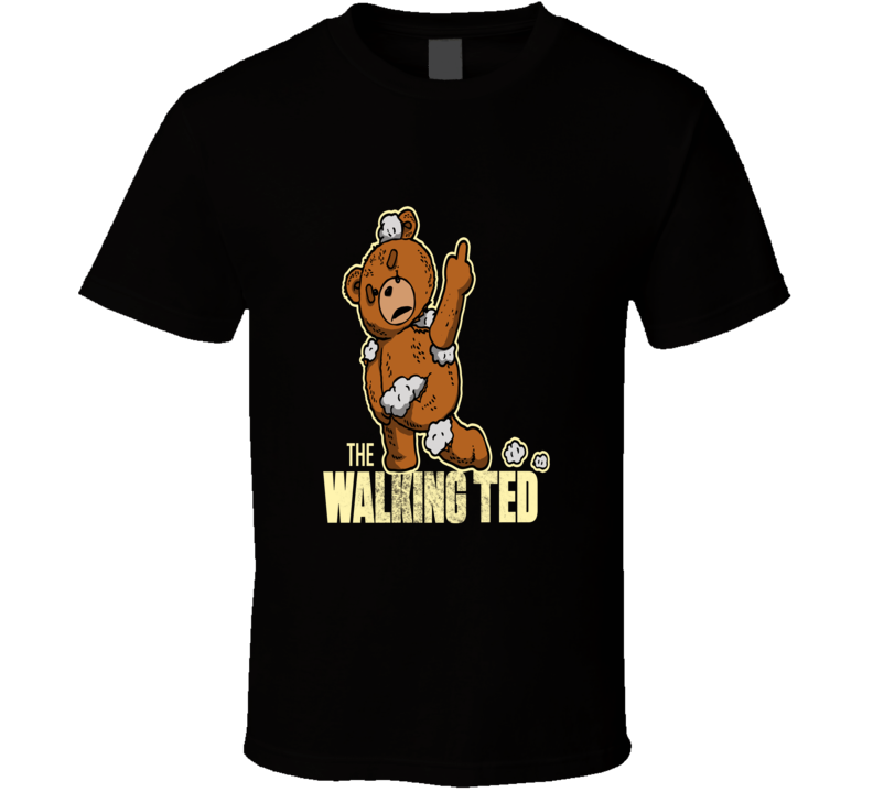The Walking Ted Walking Dead Funny T Shirt