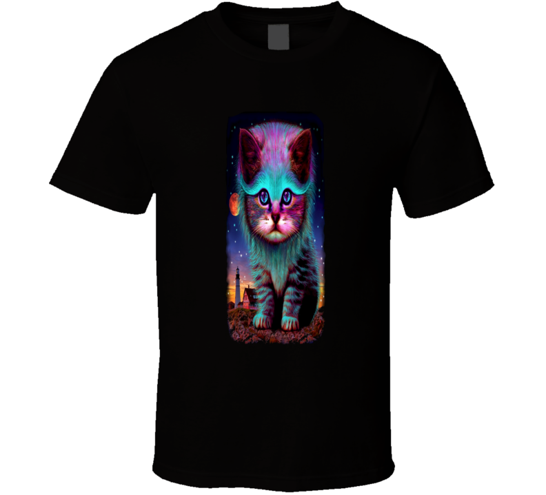 Cisco Ramon The Flash Rainbow Cat Inspired Cool T Shirt
