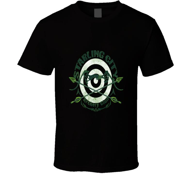 The Arrow Green Arrow Starling City Archery Club Cool T Shirt
