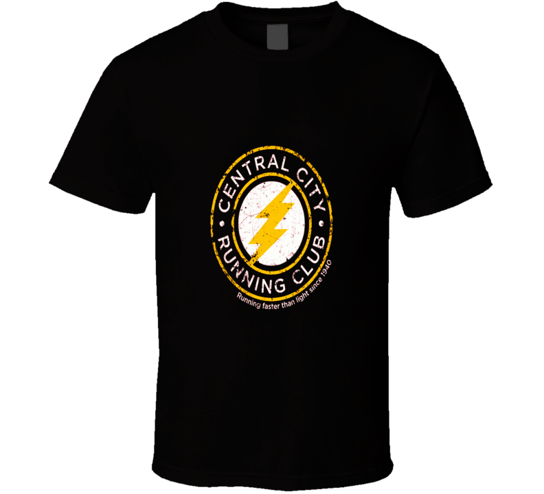 The Flash Central City Running Club Cool T Shirt