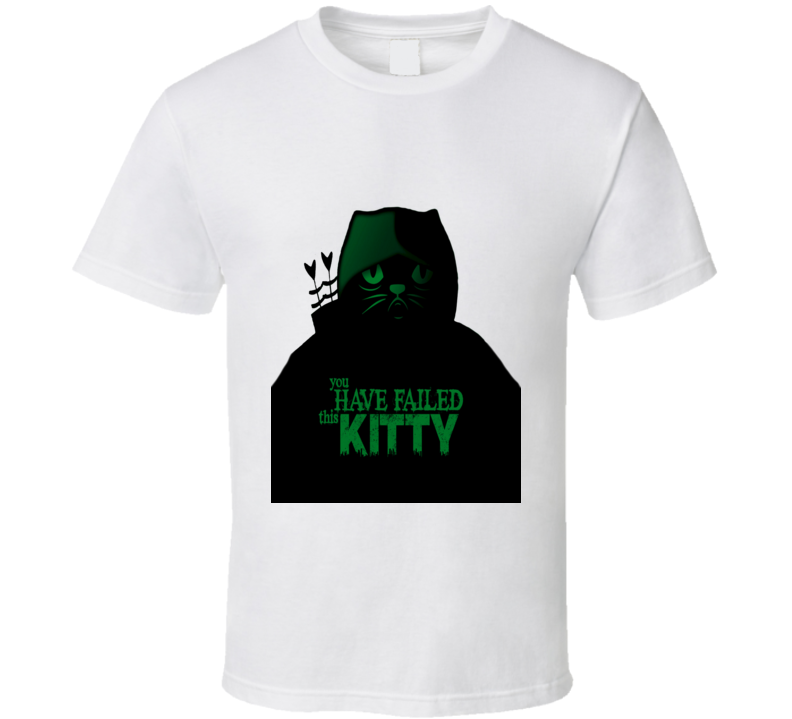 You Have Failed This Kitty Grumpy Cat The Arrow Funny T Shirt