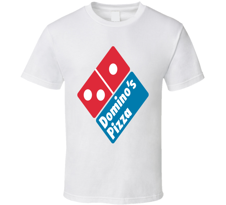 Domino's Pizza Logo Fast Food Restaurant Cool Pizza Lover T Shirt