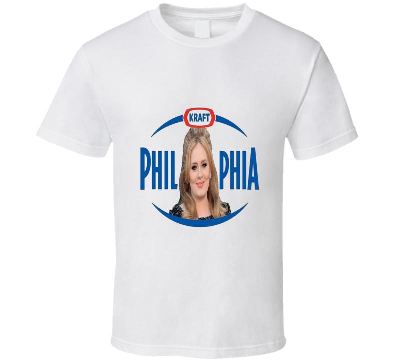 Philadelphia Butter Adele Parody Funny Logo T Shirt