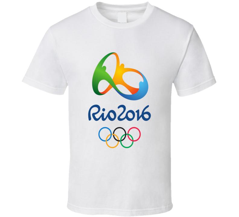 Rio De Janeiro 2016 Summer Olympics Cool Logo T Shirt